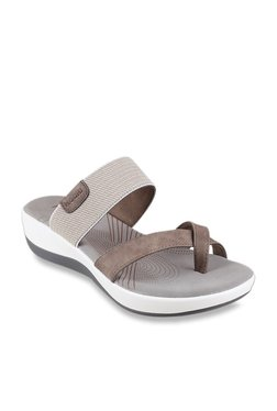 9d6651112 Mochi Brown   Grey Cross Strap Wedges