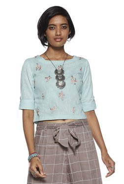 fd41f01d095fb Bombay Paisley by Westside Mint Floral Top
