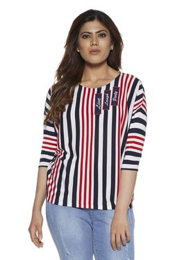 85619905c91 Sassy Soda curve by Westside Navy Claudia Top