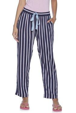 f1eec2218 Wunderlove by Westside Navy Striped Pyjamas