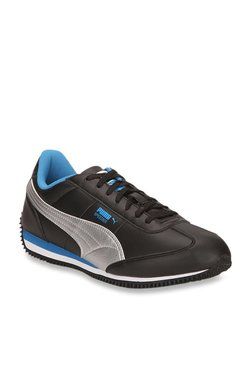 3940182e5 Puma Speeder Tetron II Ind Black Running Shoes