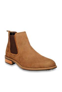 2d737f227c86 Pavers England Tan Chelsea Boots