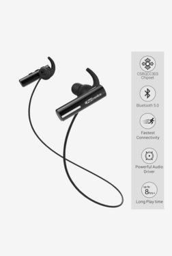 Portronics POR-119 Harmonics Notes Bluetooth Earphones with Mic (Black)