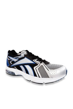 1a2e11eee Reebok Max Ride LP Silver   Black Running Shoes