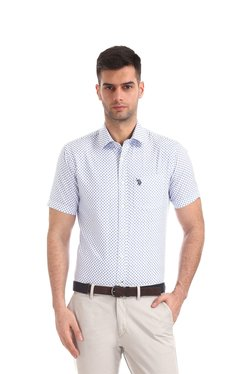 77863cae97e8c Buy U.S. Polo Assn. Shirts - Upto 70% Off Online - TATA CLiQ