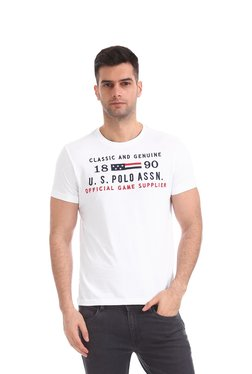 Buy U S Polo Assn T Shirts Polos Upto 70 Off Online Tata Cliq