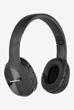 Ambrane WH-65 On The Ear Bluetooth Headphone with Mic (Black)