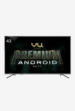 1a34c477524 Vu 108 cm (43 Inches) Smart 4K Ultra HD Android LED TV 43-