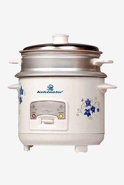 Kelvinator KRC-411 400W 1L Electric Rice Cooker (White)