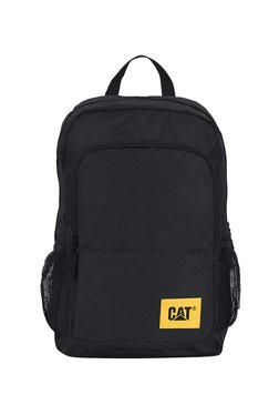 2fd0c6e853f Cat Verbatim Verbatim Black Polyester Laptop Backpack