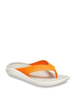 1cb17d936d09 Crocs Literide Grey Flip Flops for Men online in India at Best price ...