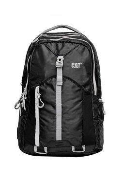 c8358fd91e1 Cat Urban Mountaineer Rainier Black Polyester Backpack
