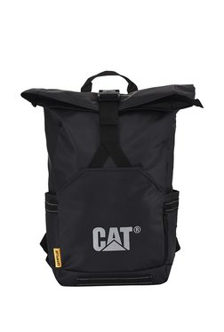47483bfc48dc Cat Tarp Power Arches 2.0 Black Laptop Backpack