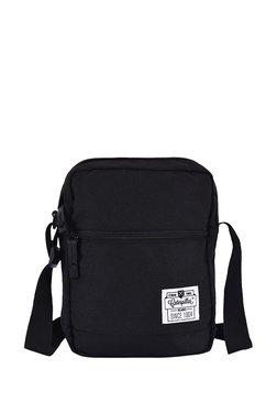 5ddaa9d9715e3e Cat 1904 Originals Hauling Black Polyester Sling Handbag