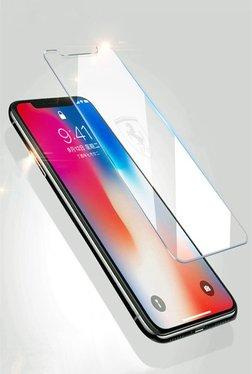 b931e3091fdb Scuderia Ferrari Apple iPhone X Etched Ferrari logo 9H Transparent Tempered  Glass (Transperent)