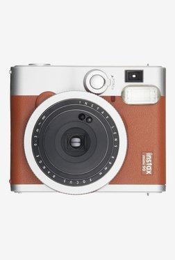 Fujifilm Instax Mini 90 Neo Classic Instant Film Camera (Brown)