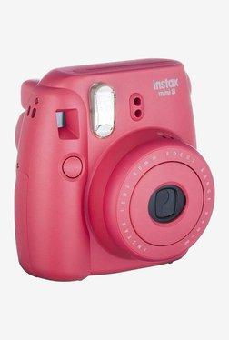 Fujifilm Instax Mini 8 Party Box Instant Camera (Raspberry Red)