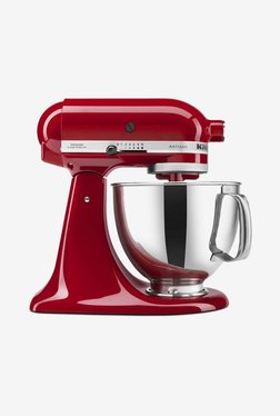 KitchenAid Artisan Tilt-Head 300W 1 Jar Stand Mixer Grinder (Empire Red)