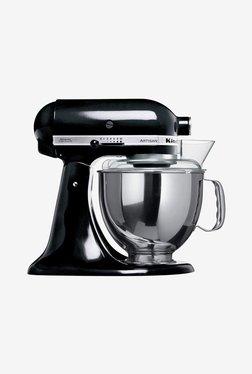 KitchenAid Artisan Tilt-Head 300W 1 Jar Stand Mixer Grinder (Onyx Black)