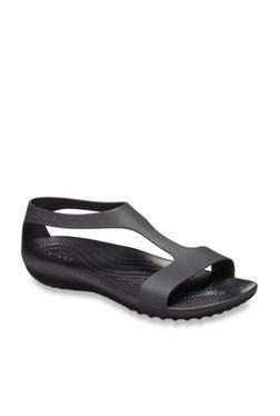 c11a67d00b23 Crocs Serena Black Casual Sandals