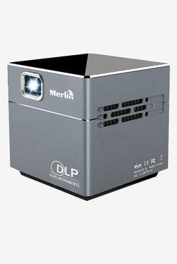 Merlin PocketBeam Cube 2 Wireless Projector (Grey/Black)