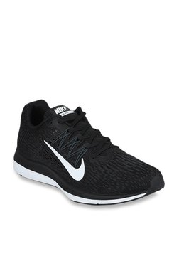 pretty nice c47df 4636f Nike Zoom Winflo 5 Black Running Shoes