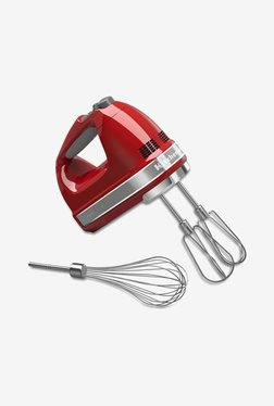 KitchenAid 5KHM7210BER 70W Hand Mixer Grinder (Empire Red)