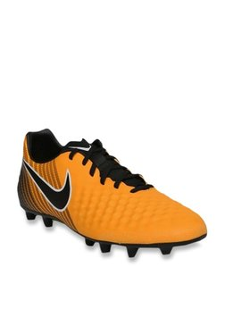 80f3024ea6b Nike Magistax OLA II TF Mustard Yellow Football Shoes