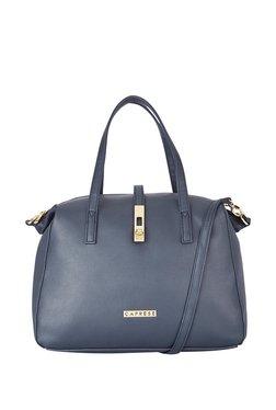 4f6777606 Caprese Navy Solid Shoulder Handbag