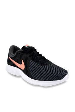 7c7666674a85 Nike Revolution Black Running Shoes
