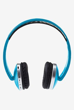 Envent Saber 300 On The Ear Bluetooth Headphone with Mic (Blue)