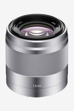 Sony SEL50F18 E 50 mm F1.8 OSS Lens (Silver)