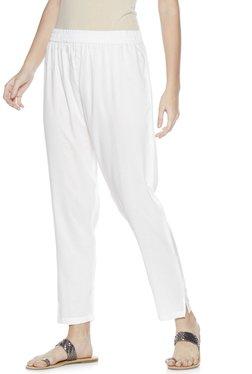 Zudio White Ethnic Pants