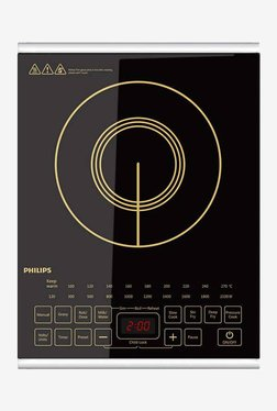 Philips HD493801 2100W Induction Cooktop (Black)