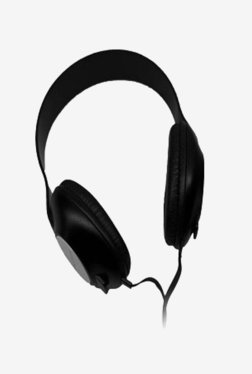 Punta LAI-HP86 Over The Ear Wired Headphone With Mic (Black)