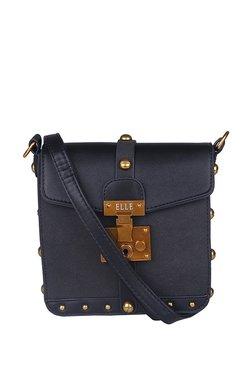 Elle Black Embellished Sling Handbag