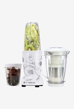 Wonderchef Nutri-Blend 3 Jars 400W Blender Juicer (White)