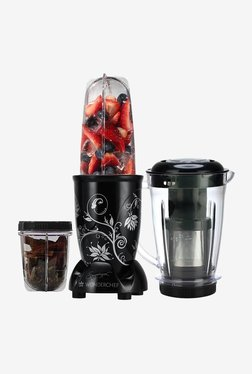 Wonderchef Nutri-Blend 3 Jars 400W Blender Juicer (Black)