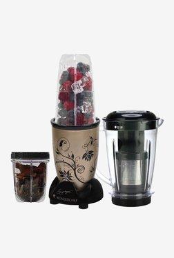 Wonderchef Nutri-Blend 3 Jars 400W Blender Juicer (Champagne)