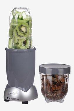 Wonderchef Nutri-Blend Ultima 2 Jars 380W Blender Juicer (Grey)
