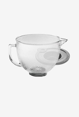 KitchenAid K5GBH 4.8 Tilt Head Hammered Glass Bowl with Lid (Transparent)