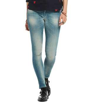 Scotch & Soda Grey & Blue La Bohemienne Jeans