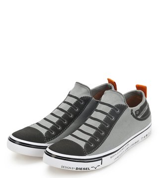 Diesel Light Grey Imaginee Low Slip On