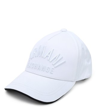 Armani Exchange Bianco Sports Baseball Cap