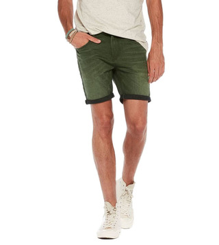 Scotch & Soda Military Green Ralston Shorts