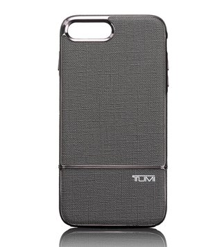 Tumi Grey Two Piece Slider Iphone Next Plus Case