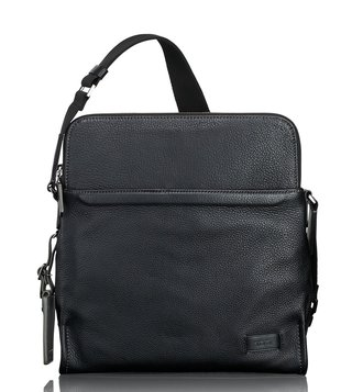 Tumi Black Stratton Cross Body Bag