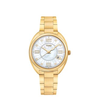 Fendi F218434500D1 White Momento Watch For Women