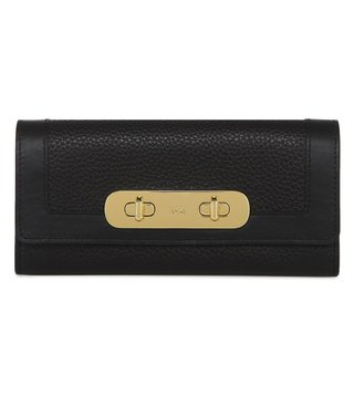 Coach Black Swagger Large Wallet