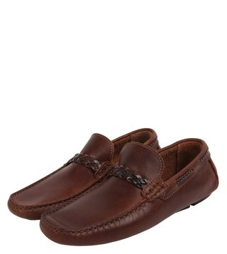 Dune London Tan Brodie Di Loafers